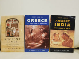 3 New Indigo Books: Ancient India, Ancient Lives, Greece