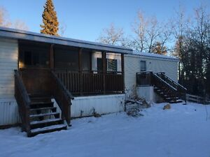 Acreage, with mobile home for rent