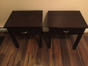 2 Night stand or end tables-$120 solid wood