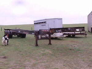 48' STEADMAN CONTAINER CHASSIS TRAILER