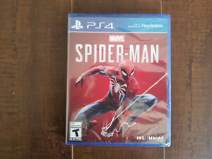 Spider Man for PS4 (Brand New Sealed Copy)