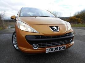 2008 08 PEUGEOT 207 1.6 GT HDI 3D 108 BHP**LOVELY CONDITION**GREAT ECONOMY**LOW