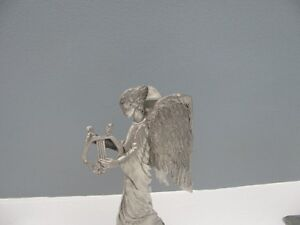 Seagull Pewter Angel with Harp Taper Candle Holder London Ontario image 2