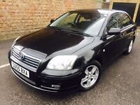 55 PLATE TOYOTA AVENSIS T3X AUTOMATIC 5 STAMP HISTORY 2 OWNERS