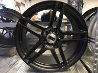 """18"""" alloy wheels Alloys Rims tyre tyres 5x112 seat skoda Audi Vw Volkswagen Mercedes last set!!!!"""
