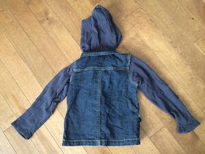 Veste de jeans coton ouaté Blü 4 ans Québec City Québec image 2