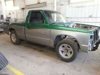 S-10 Pick up Project