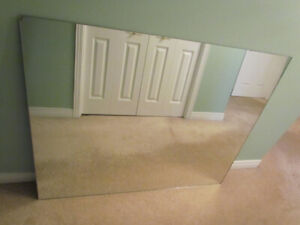 Large Mirror For Sale 50 X 40 X 3/16 Inches