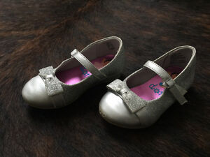 Dora Silver Glitter Girls Shoes