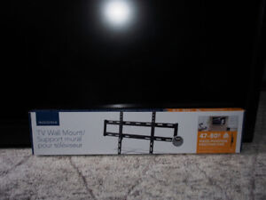 New TV Wall Mount and 46 Sony LCD TV Used in working order