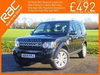 2010 Land Rover Discovery 3.0 TDV6 Turbo Diesel HSE 4x4 4WD 6 Speed Auto 7 Seate