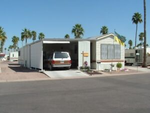 Park Model FOR SALE with Large Arizona Room in Mesa, AZ