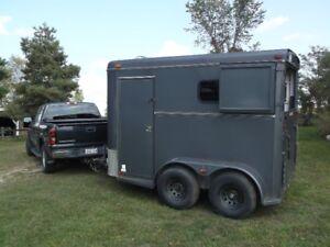 adams horse trailer