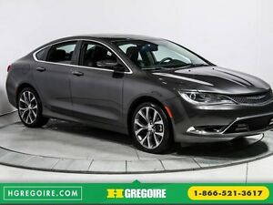 2016 Chrysler 200 C CUIR TOIT NAV MAGS BLUETOOTH