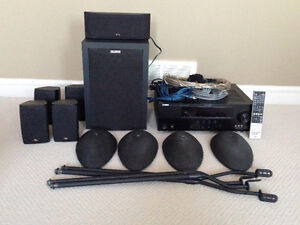 Home Theater Speaker System and Receiver