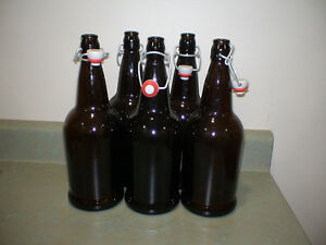 Self sealing beer bottles