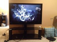 """50"""" Plasma Pioneer TV with TV stand!!"""