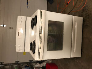 Stove almost brand new