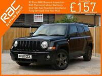2010 Jeep Patriot 2.4 Sport 5 Speed 4x4 4WD Bluetooth Parking Sensors Air Con Ju