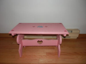 CUSTOM MADE PAINTED BENCH