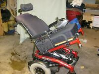 Quickie S.646SE Electric Wheelchair-Power Tilt