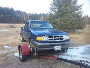 1994 Ford Ranger Xl Pickup Truck