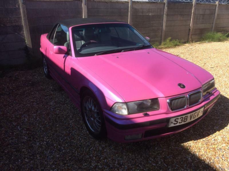 BMW 328 2.8i i Sport CONVERTIBLE PEARL PINK