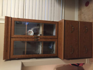 Glass top cabinet