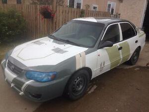 2001 Toyota Corolla Sedan