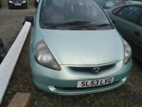 2003 HONDA JAZZ 1.4i DSI S 5dr TRADE IN TO CLEAR, MOT FEB 2018
