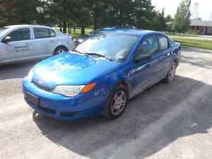 2003 Saturn ion coupe parting out