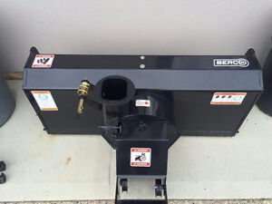 Berco 44-in Two-Stage Electric Lift Snowblower Attachment