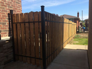 Exterior Aluminum Railings, gates &  Fences