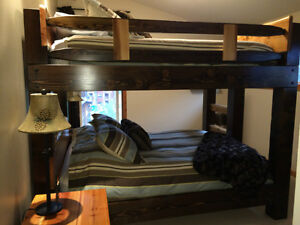 Hand crafted Timber bunk beds in Fanny bay Comox / Courtenay / Cumberland Comox Valley Area image 6