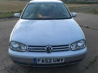 VW Golf 2.0lt totally original car for sale