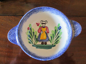 HAND PAINTED BOWL MADE IN FRANCE