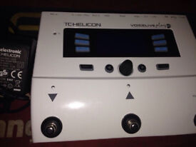tc helicon voicelive gtx play pedal voice in BOX