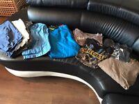 Bundle of men's clothes 32 waist medium top