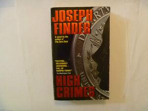 JOSEPH FINDER - High Crimes - Paperback