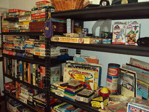 Rare and Vintage Board Game Collection Avail.