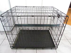 Cage Chien, en Métal tres solide, Pliable, SÉPARATEUR 30x24x21