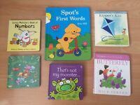 Bundle of Children Board Books Eric Hill Mick Inkpen Baby Morden