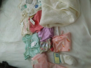 Baby girl clothing brand New, tags on all of the items