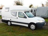 Romahome DUO PLUS, 2003, 2 Berth, Compact Campervan, Citroen 2.0 TD, VGC!