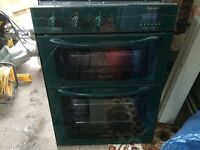 Hotpoint integrated double oven