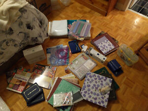 Complete Scrapbooking Kit and Supplies