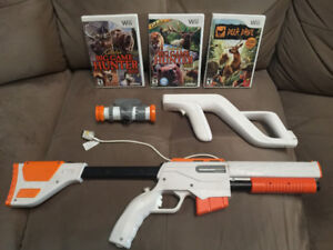 Wii hunting games and gun