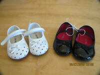 Toddler Girl Shoes - 2 Pairs
