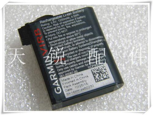 1Pcs Garmin VIRB Ultra 30 Camera Battery 361-00087-00 1250mah