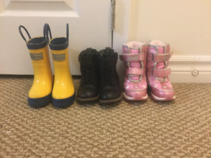 Toddler boots size 4 & 6